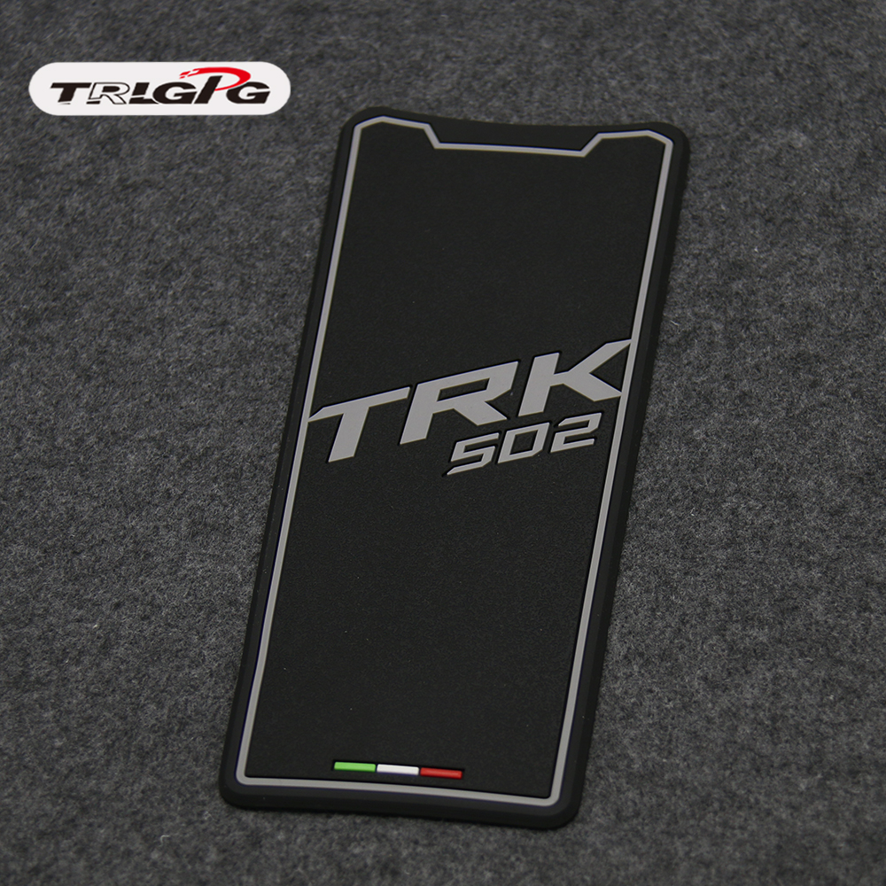 For Benelli TRK502 TRK502X TRK502C Free Shipping Motorcycle Accessories Real Tank Pad Sticker Decal Emblem Fits BLACK