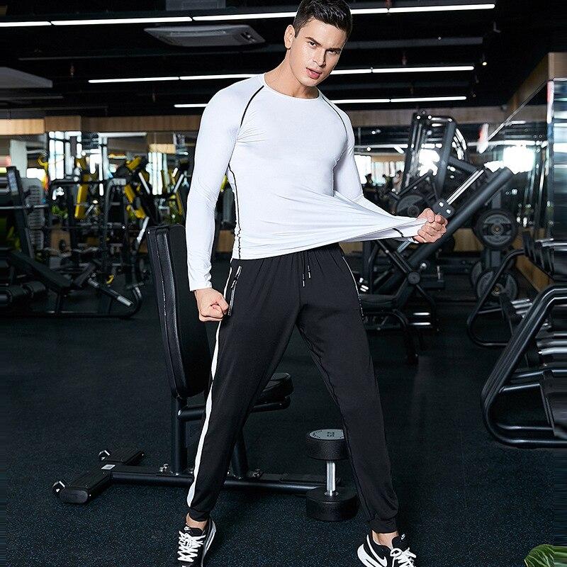 2020 Men's Trousers Men's Pants Fitness Sweatpants Gyms Joggers Pants Workout Casual Pants Black Pants