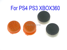 4pcs=1set 4 in 1 Analog Grip Extended Thumb Sticks Extra High Joystick Caps For PlayStation 4 PS4 Pro Slim Controller