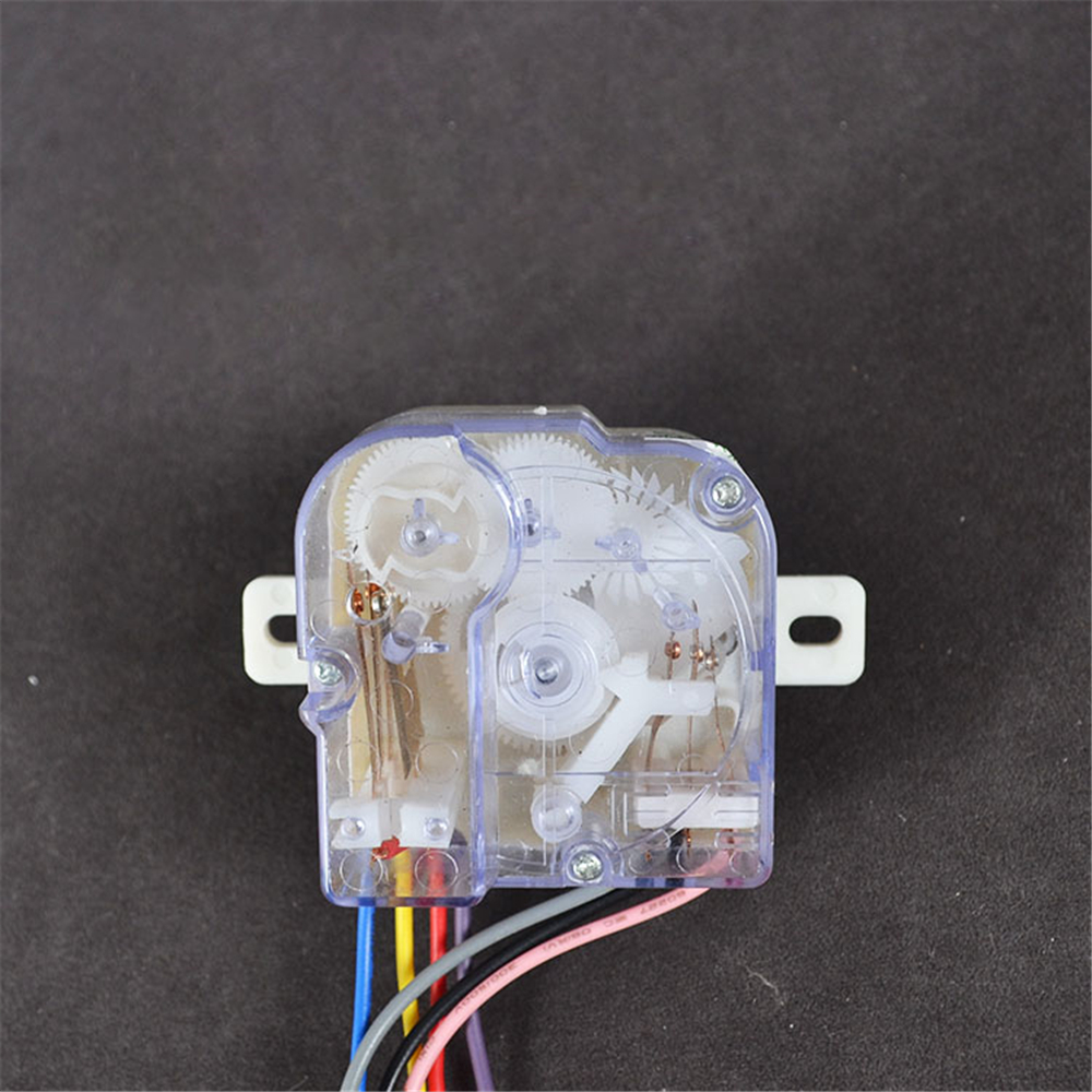 Semi-automatic Double-tub Washing Machine 7 Wires Washing Machine Timer Switch DXT15SF-G 220V/3A 7.2CM