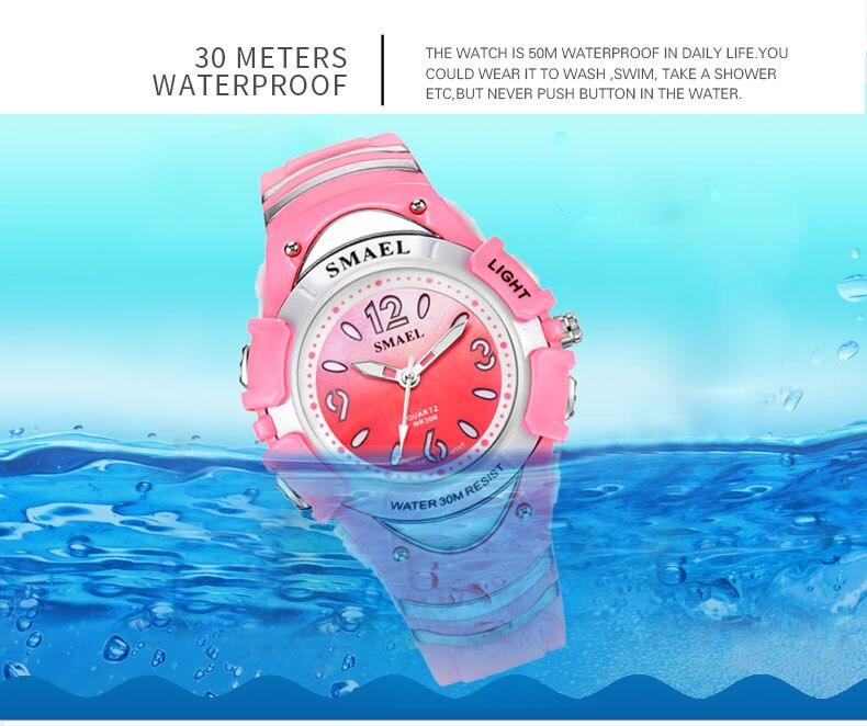 relógios esporte resistente a choques para relógios