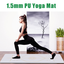 Yoga-Mats Rubber-Pads Lose-Weight-Exercise-Mat Fitness-Cushion Position-Line Gym Non-Slip