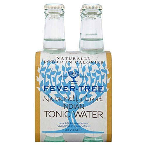 Fever Tree Naturallly Licht Indian Tonic Wasser (4X200Ml)
