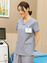 Surgical overalls female cotton nurse's overalls surgical hand-washing overalls doctor's hand-washing overalls