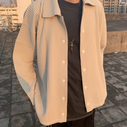 Miyake мешковатая плиссированная рубашка
