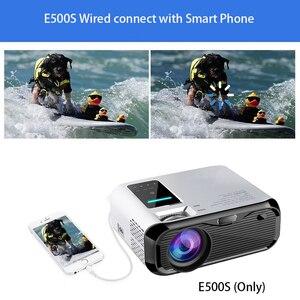 Image 3 - Smartldea novo 720 p hd projetor wi fi, nativo 1280*720 p, projetor espelho, mini led vídeo proyector casa vídeo beamer sync display