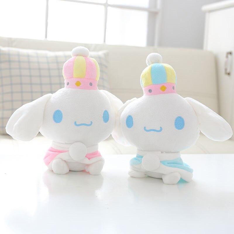 High Quality 20cm Kawaii Cute Cartoon Cinnamoroll Plush Dog Dolls Toys for Kids Birthday gift Christmas gifts