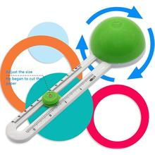 Cutter Cutting-Tools Circle Perfect Compass Round-Knife Paper D1S8 Handicraft Scrapbooking