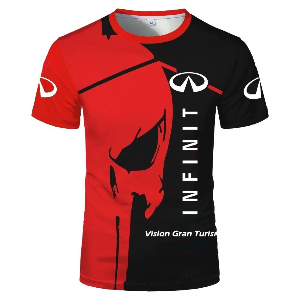 Blood Racing 2021 T Shirt For Men New 3d Printed T-shirt Santa Cruz Tshirt Light And Comfortable Tops Tees Short Sport Outdoor