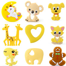 Silicone Pacifier-Chains Teething-Product-Accessories Dinosaur Animal Dog Baby Bpa-Free