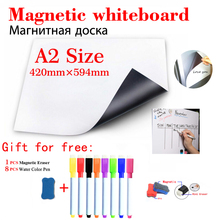 Magnetic Whiteboard Fridge Sticker Office Information Message Board School Teaching Blackboard Stationery Dry Erase White Board