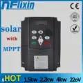 Inversor solar do pv dc ao conversor trifásico 220 v 0.75kw/1.5kw/2.2kw/4kw da c.a. com controle de mppt para a bomba solar