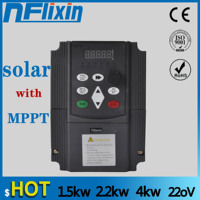 NF9100 Vector Control frequency converter DC 200V 400V to Three phase 220V solar pump inverter with MPPT control