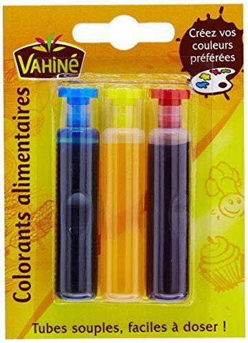 Vahiné Coloring Alimentarios