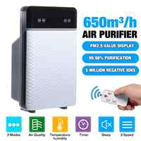 AUGIENB Large Room Air Purifier True HEPA Filter,  for Smoke, Dust, VOCs, Pollen, Pet Dander,PM2.5,Odor Allergies, Home Office