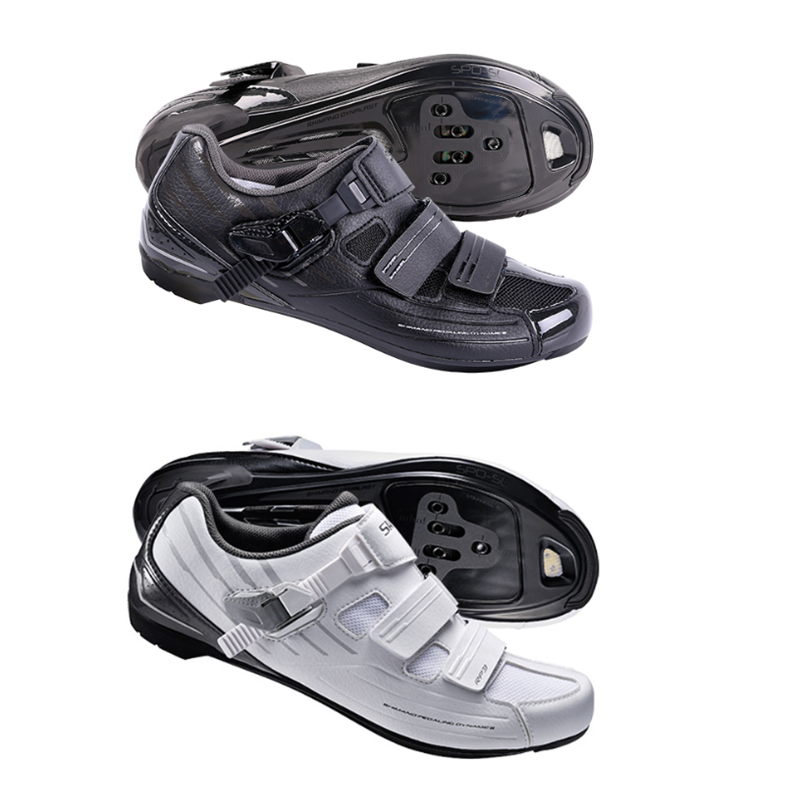 White Shimano SH-RP3-W Road Bike Club Recreational Cycling Men/'s Shoes SPD-SL