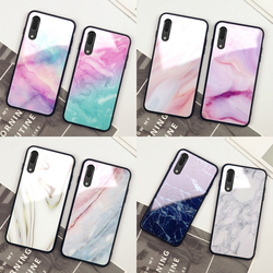 На Алиэкспресс купить стекло для смартфона for huawei honor 30 pro plus 30s 20 case colorful marble hard tempered glass back silicone cover for honor 20s 20i v20 casing