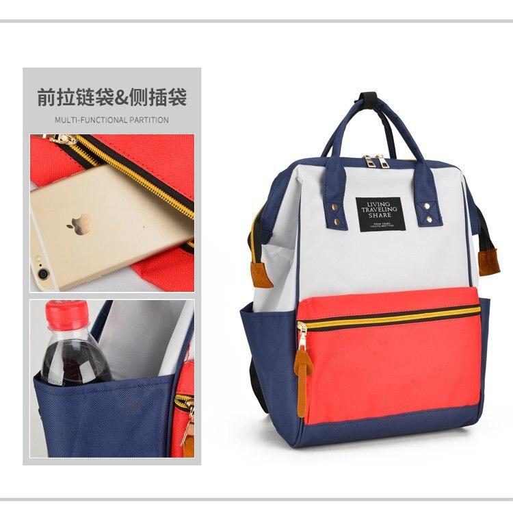 New Style Multi-functional MOTHER'S Bag Fashion Mommy Bag Feeding Bottle Backpack Large-Volume Diaper Bag