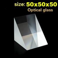 스펙트럼 광학 광학 유리 삼각형 지점 등각 직각 K9 소재