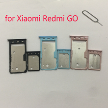 Tray-Adapter Micro-Sd Card-Holder Housing Phone-Sim-Card XIAOMI for Redmi GO Original