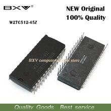 5 pçs/lote W27C512 W27C512-45Z W27C512-45 27C512 DIP28 IC ic novo e original
