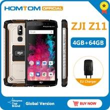 "HOMTOM ZJI Z11 Mobile Phone IP68 5.99"" MTK6750T Octa core Dual sim 10000mAh Android 8.1 Face unlock 4GB RAM 64GB ROM Smartphone"