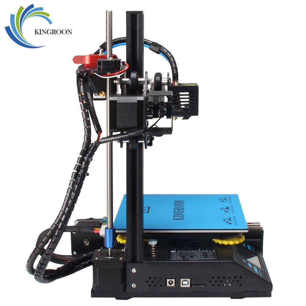 KingRoon BRICOLAGE 3D Imprimante KP3 Amélioré de Haute précision 3D принтер 180*180*180mm Cadre Métallique Rigide Drukarka 3D Tactile Écran LCD Chaude - 3