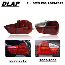 Lumières de voiture Pour BMW E90 318i 320i 323i 325i 328i 330i 2005 2006 2007 2008 2009 2010-2012 Feu Arrière Feu Arrière Feu arrière Pas D'AMPOULE