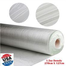 Pano de fibra de vidro branco tecido roving pano de fibra de vidro malha simples tecer reforço tecido ferramenta material diy suprimentos à prova de fogo