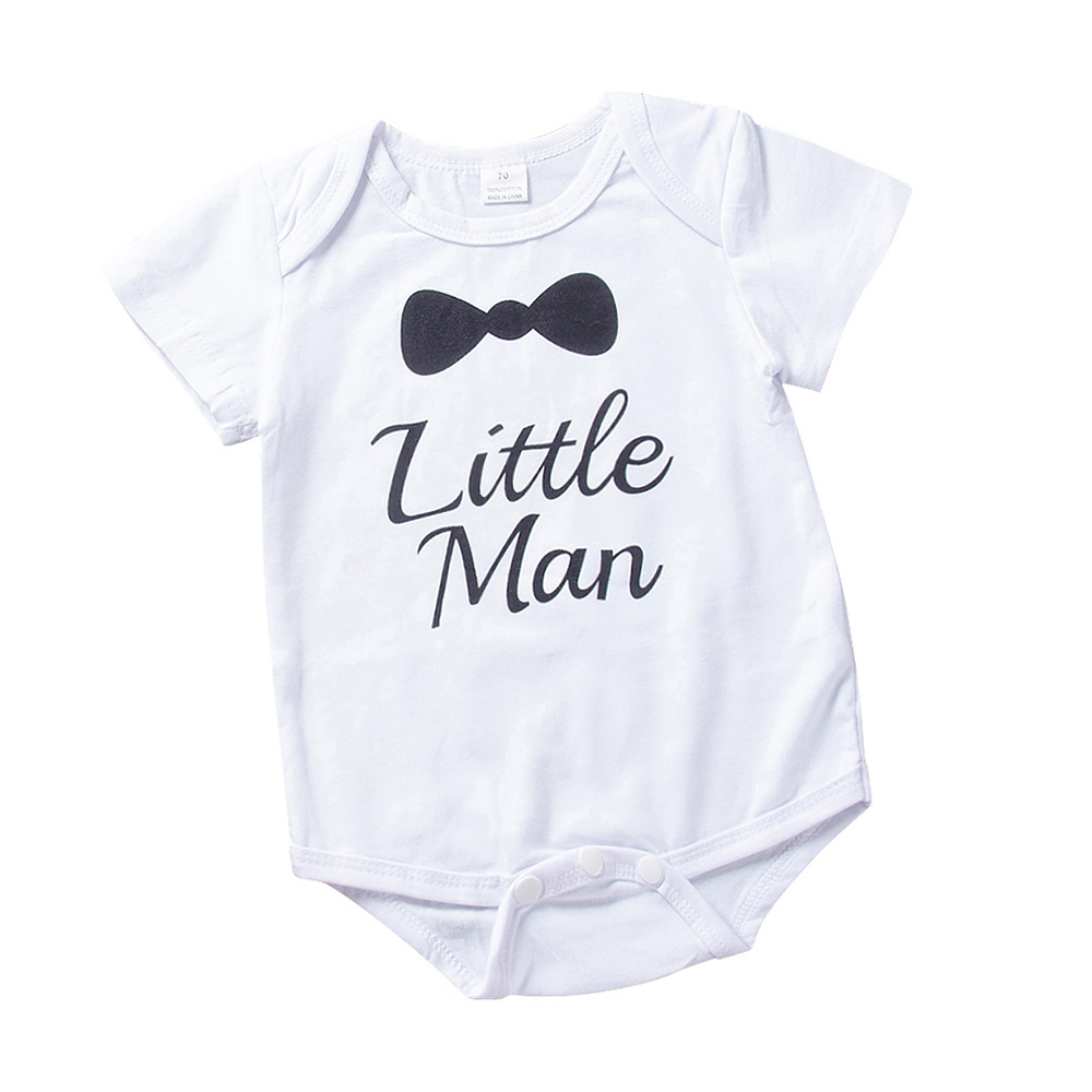 AmzBarley Baby Boys Cotton clothing set newborn baby 3pcs set short sleeves rompers trousers hat infant summer Autumn clothes in Clothing Sets from Mother Kids