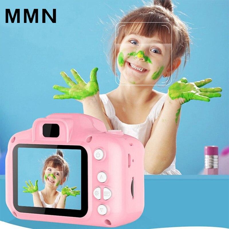 1080P Мини милый экран Цифровая камера портативная видеокамера детские игрушки Встроенные игры для малышей фотографии подарки