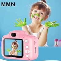 1080P Mini Nette Bildschirm Digital Kamera Tragbare Camcorder Kinder Spielzeug Eingebaute Spiele für Kleinkind fotografie Geschenke