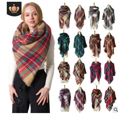 New Cotton DDD And Linen Scarf, Leopard Print, Fashion, Autumn And Winter Shawl, East Gate Of South Korea