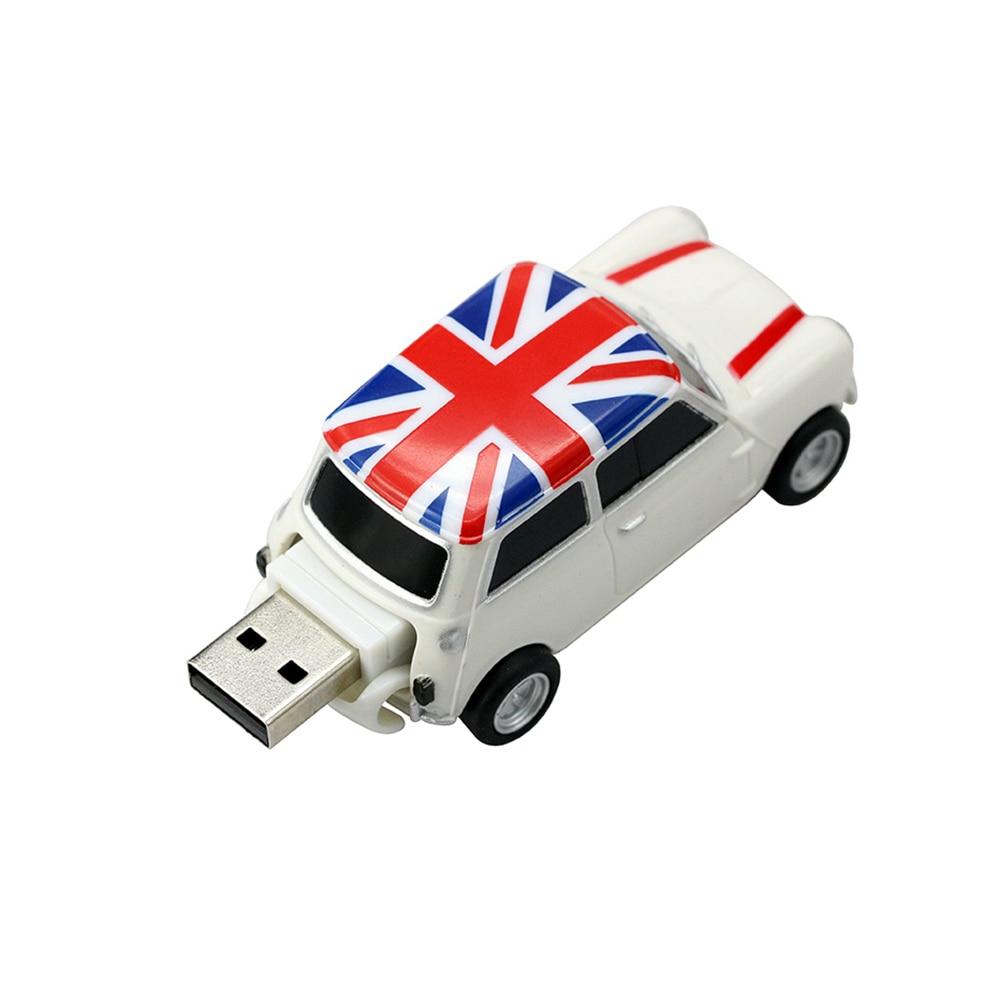 Civetman® New USB Flash Drive Elegant England Car Cool 64GB
