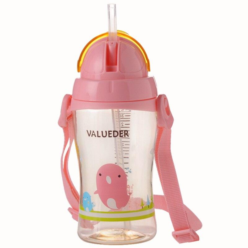 Wei Lun Seoul PPSU Kindergarten Children Girl'S BOY'S Take-out Suspender Strap Adjustable Plastic Water Bottle Children Cup With