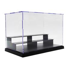 25*14.5*17cm 3-Tier Dustproof Clear Acrylic Action Figure Model DIY Display Case Storage Show Box For Action Figures Doll Model