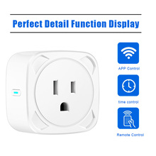 WiFi Smart Plug Switch Voice Control Phone Switch Timing Plug Home Work Remote Control LHB99 smart wifi plug remote control thermostat