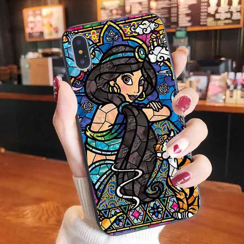 NBDRUICAI Cartoon Princess Stich Vintage High Quality Phone Case for iPhone 11 pro XS MAX 8 7 6 6S Plus X 5 5S SE XR case