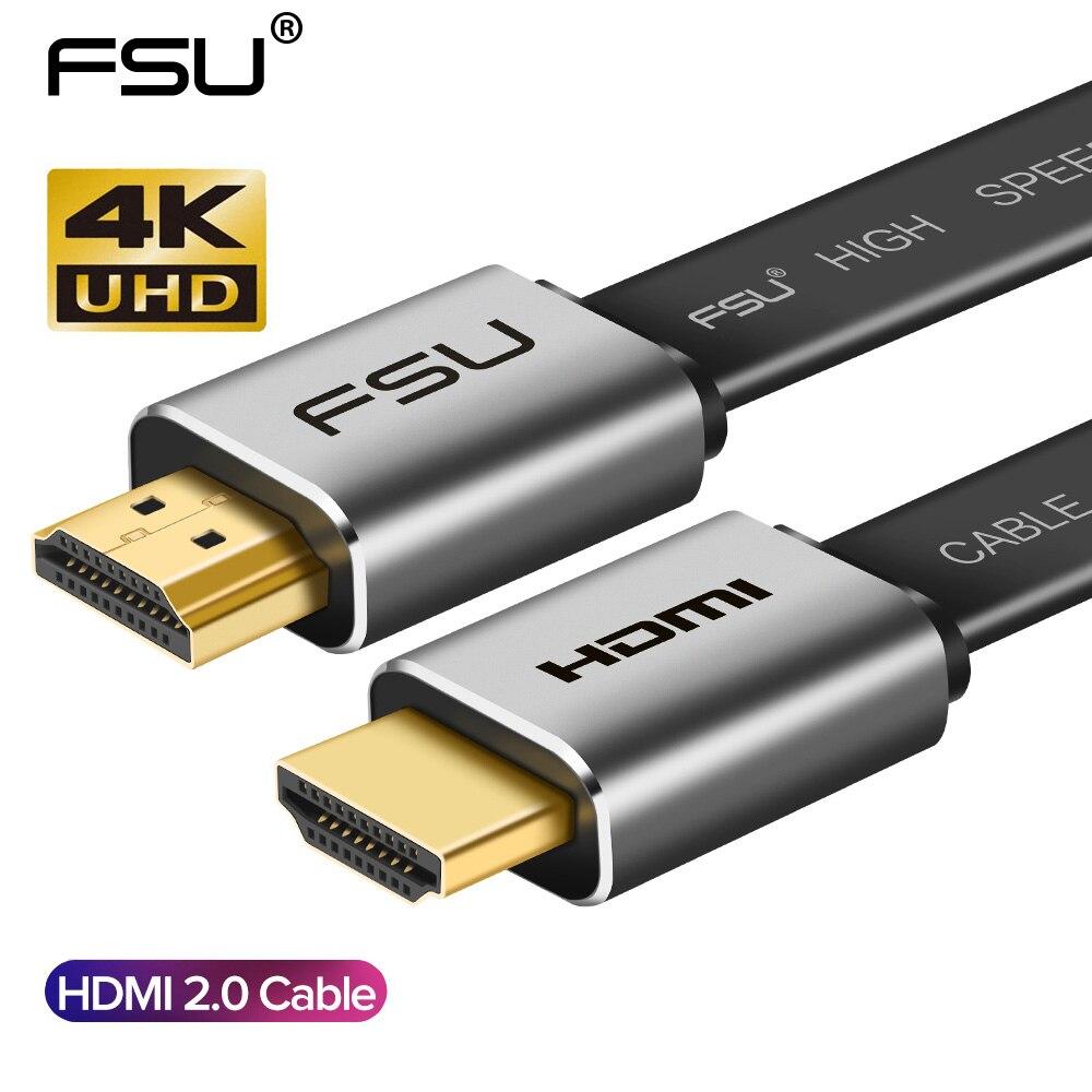Haute vitesse V2.0 HDMI câble 4K * 2K mâle à mâle 3D 1080P HD pour moniteur ordinateur TV PS3/4 projecteur HDTV 0.5m 1m 1.5m 2m 3m