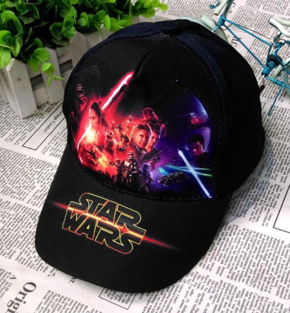 1 Pcs Cartoon Star Wars Fashion Sun Hat Casual Cosplay Baseball Cap Mesh Cap Party Gifts
