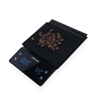 Image 2 - Electronic Coffee Scale Hand Versatile Bar Electronic Scale Gram Scale with Timer 3KG Kitchen Scale  LED Display  Food Scale