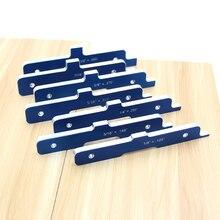 7 шт. алюминиевый сплав маршрутизатор стол набор баров Деревообработка глубина тест расстояние установка баров для настольной пилы маршрутизатор стол формирователь