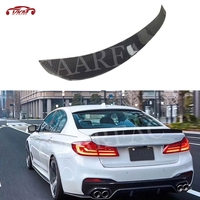5 Series Carbon Fiber / FRP Rear Spoiler for BMW G30 F90 M5 Sedan Spoiler 2017 2019 3D Style boot Duck Wings Car styling