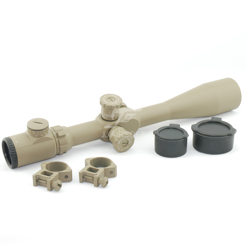 JJ Airsoft 8-32x50 E-SF (Red / Green Reticle) (Black/Tan) Rifle Scope FREE SHIPPING (ePacket/HongKong Post Air Mail)
