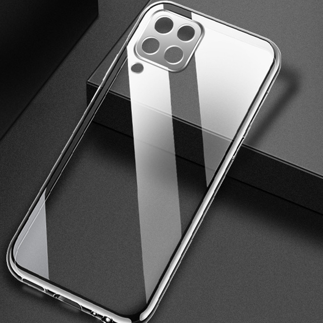 Case For Samsung Galaxy A12 TPU Silicone Clear Bumper Soft Case For Samsung A12 M12 Transparent Phone Back Cover 2