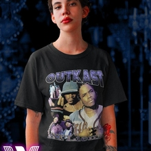 Popular New Outkast Atliens Rap Hip Hop Music Men/'s Black T-Shirt S-5XL