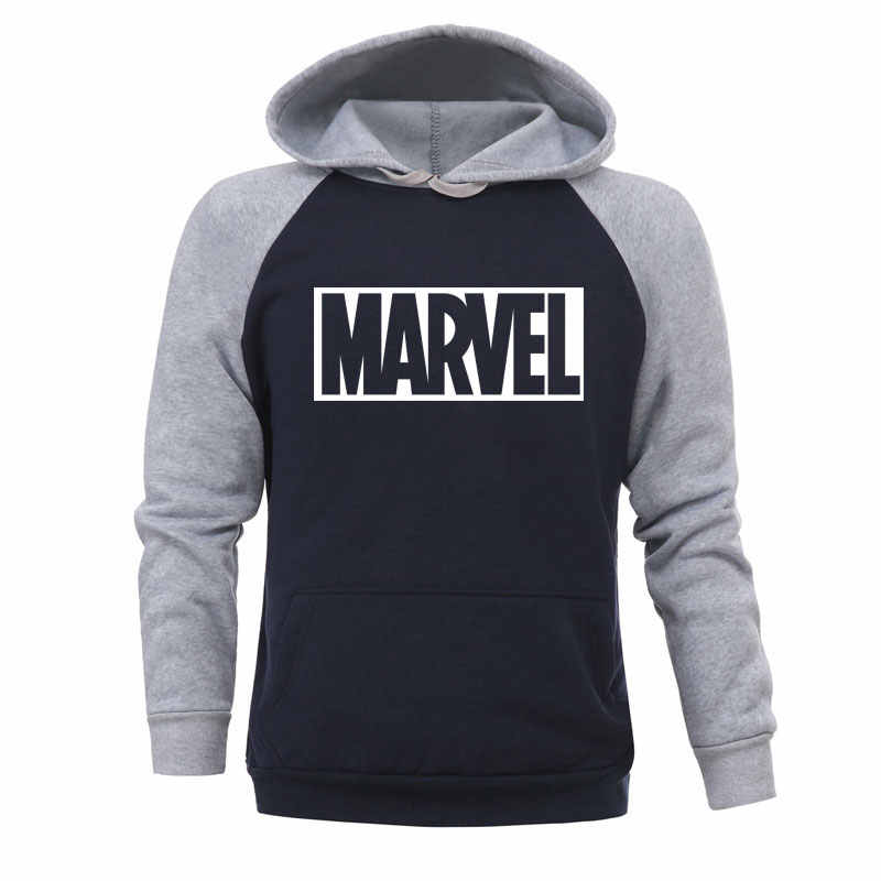 2019 Thu Đông Marvel Áo Khoác Người Nhện Nam Hoodie Nỉ Áo Khoác Nam Mới Phù Hợp Với Áo Avengers Thương Hiệu Áo Thun
