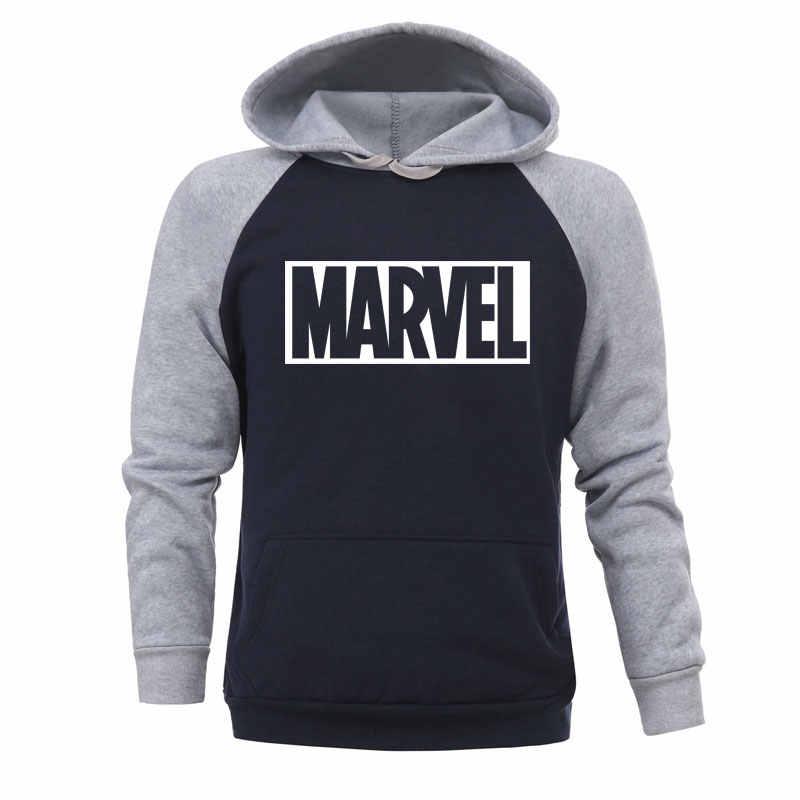 2019 herbst Winter MARVEL Hoodies Spiderman Männer Hoodie Sweatshirts Tops Casual Neue Männliche Trainingsanzug Die Avengers Marke Pullover