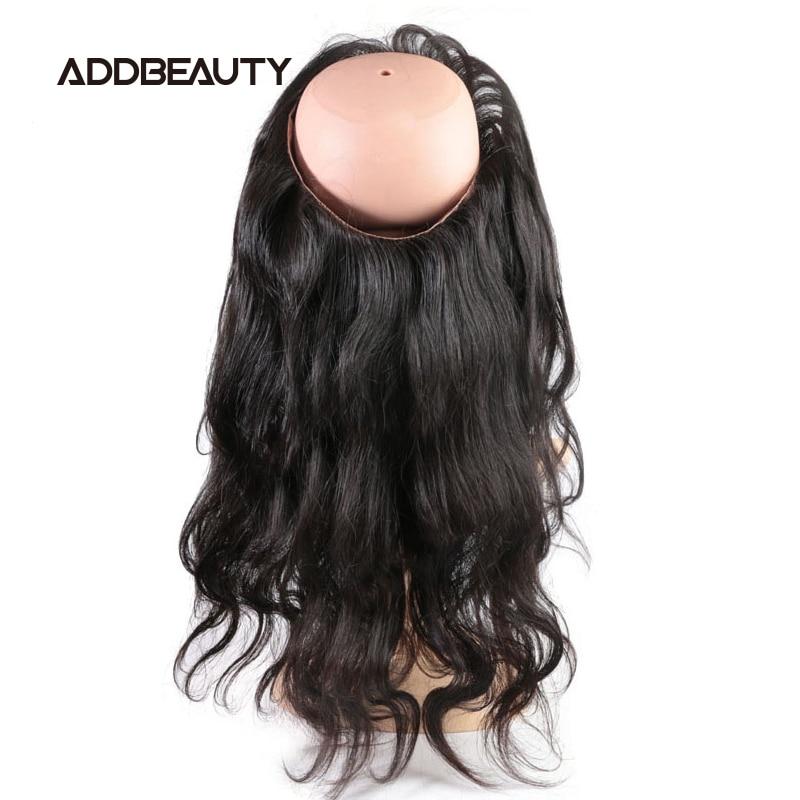 Волнистые волосы 360 на сетке, фронтальные бразильские необработанные натуральные человеческие волосы, предварительно выщипанные волосы ес...