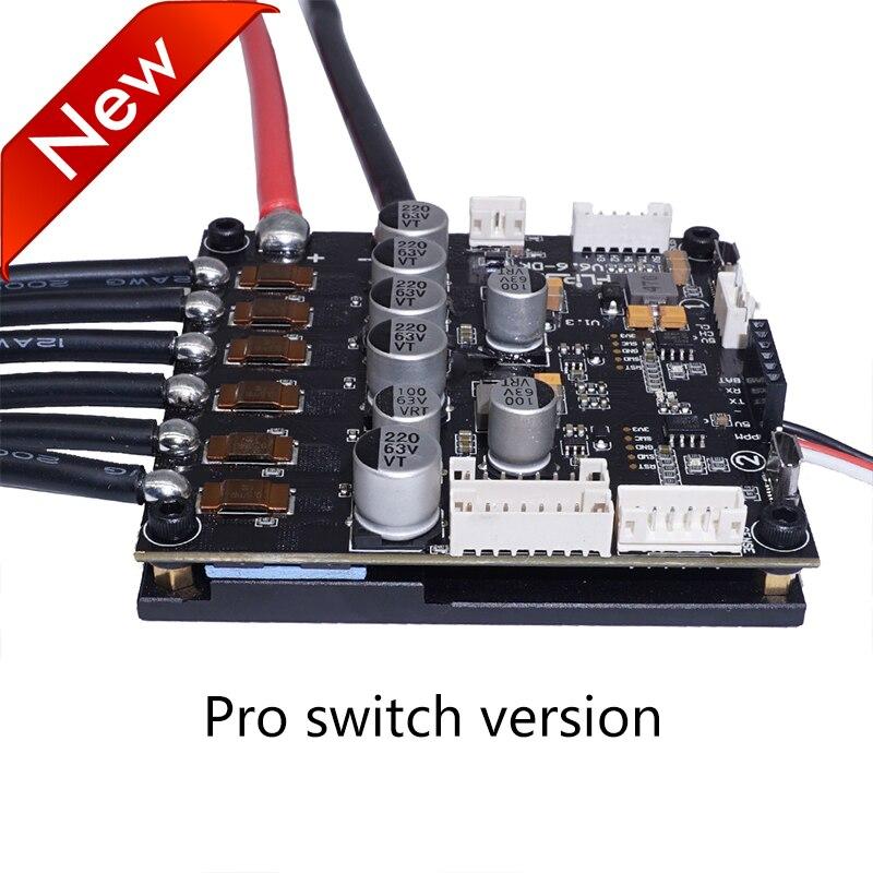 Dual FSESC6.6 Plus Based On VESC6 Electric Long Board Speed Controller 100A 12s FLIPSKY